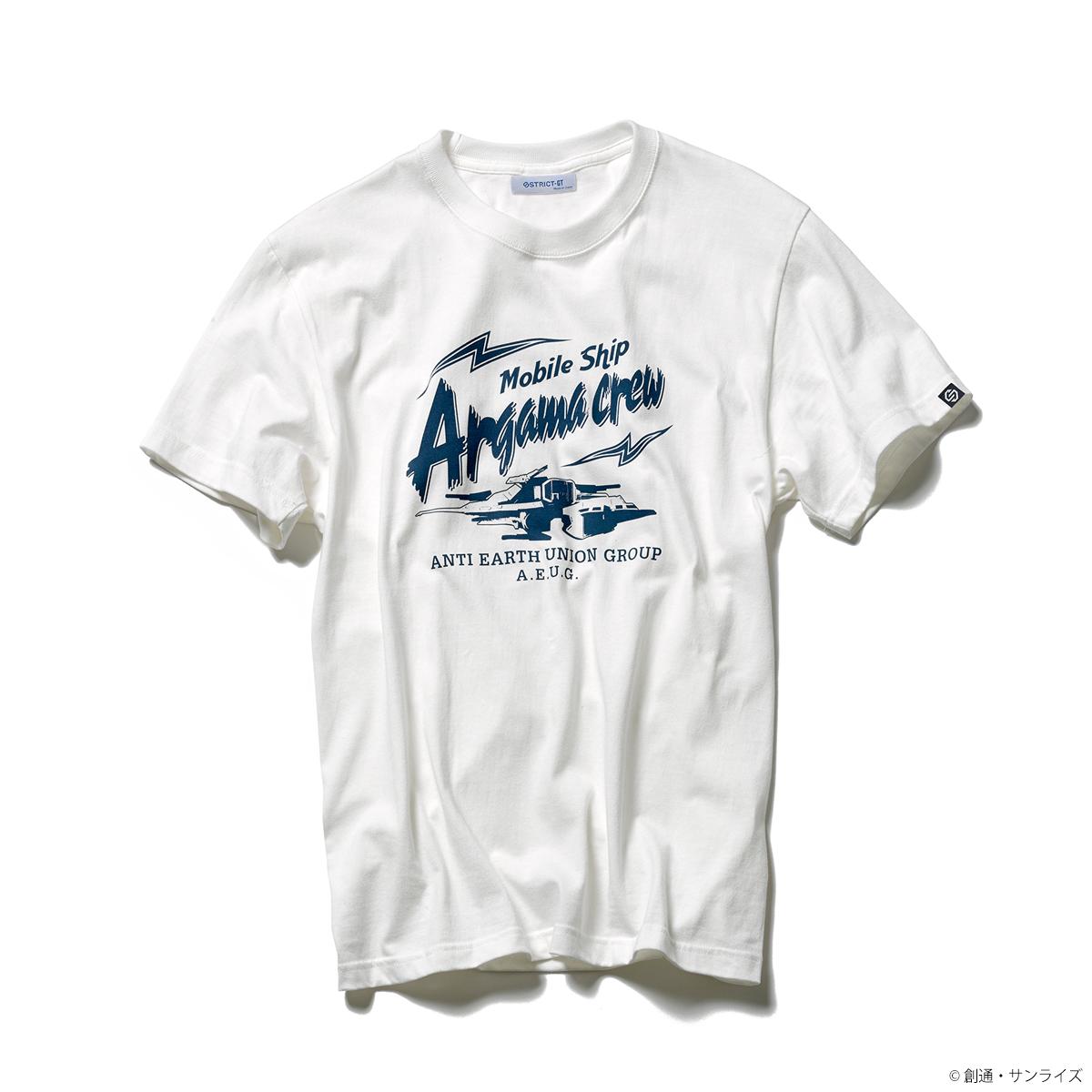 『機動戦士Zガンダム』 Tシャツ アーガマ・クルー柄