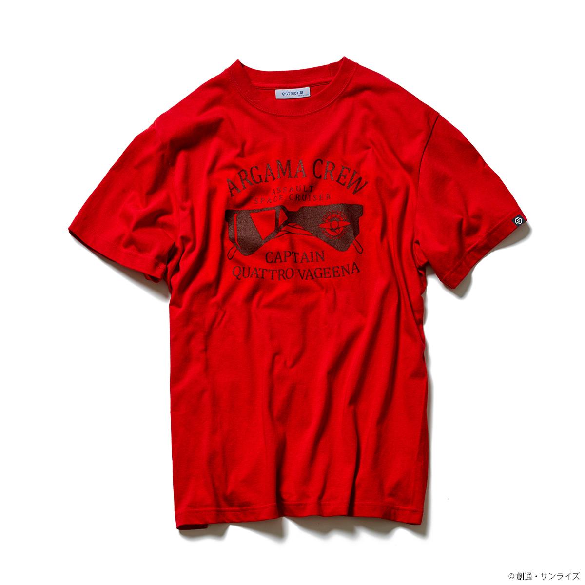 『機動戦士Zガンダム』 Tシャツ クワトロ・クルー柄