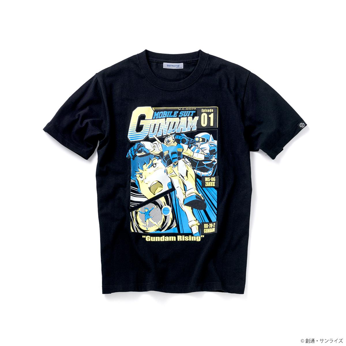 『機動戦士ガンダム』EPISODE Tシャツ エピソード01話「ガンダム大地に立つ!」