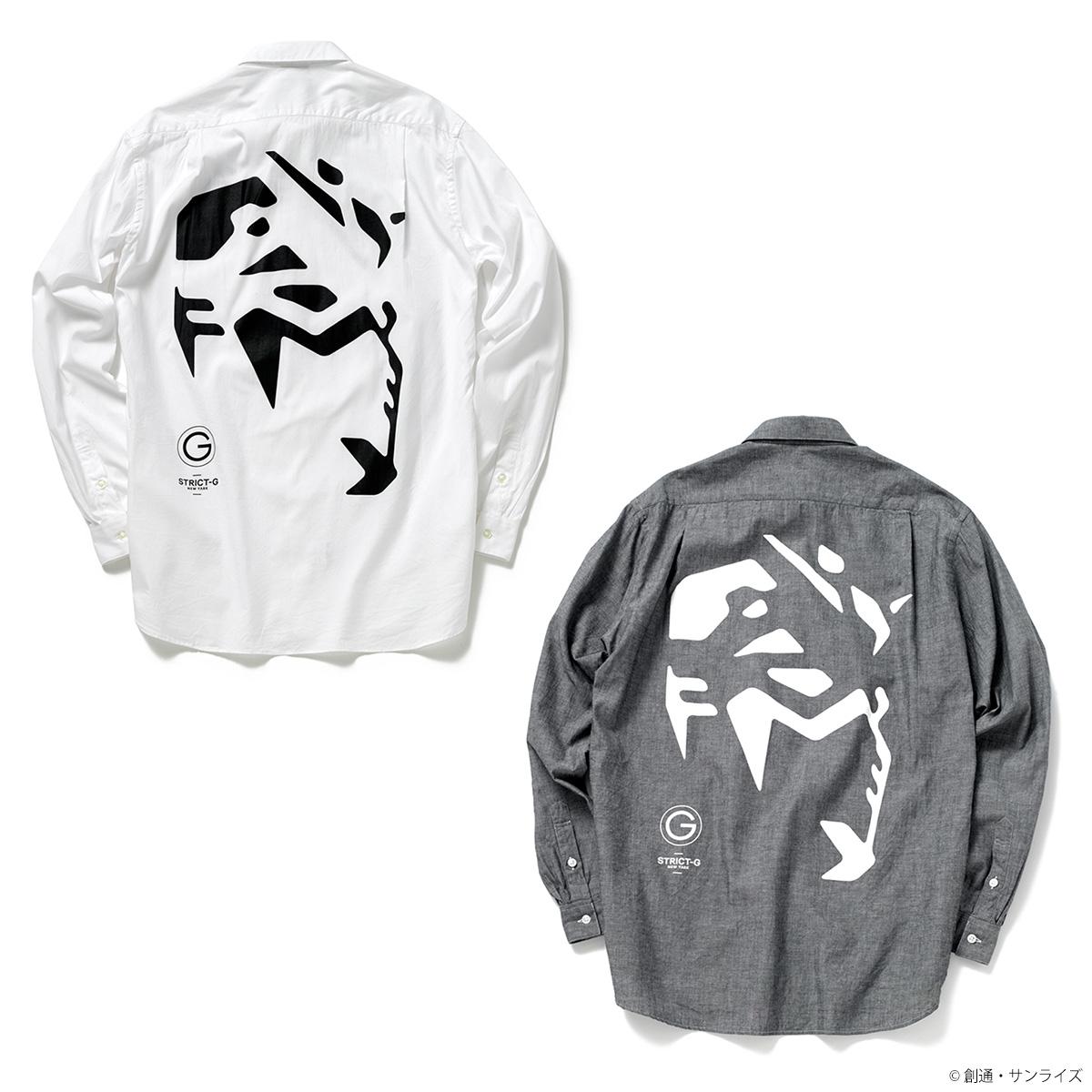 STRICT-G NEW YARK レギュラーシャツ ガンダムフェイス柄