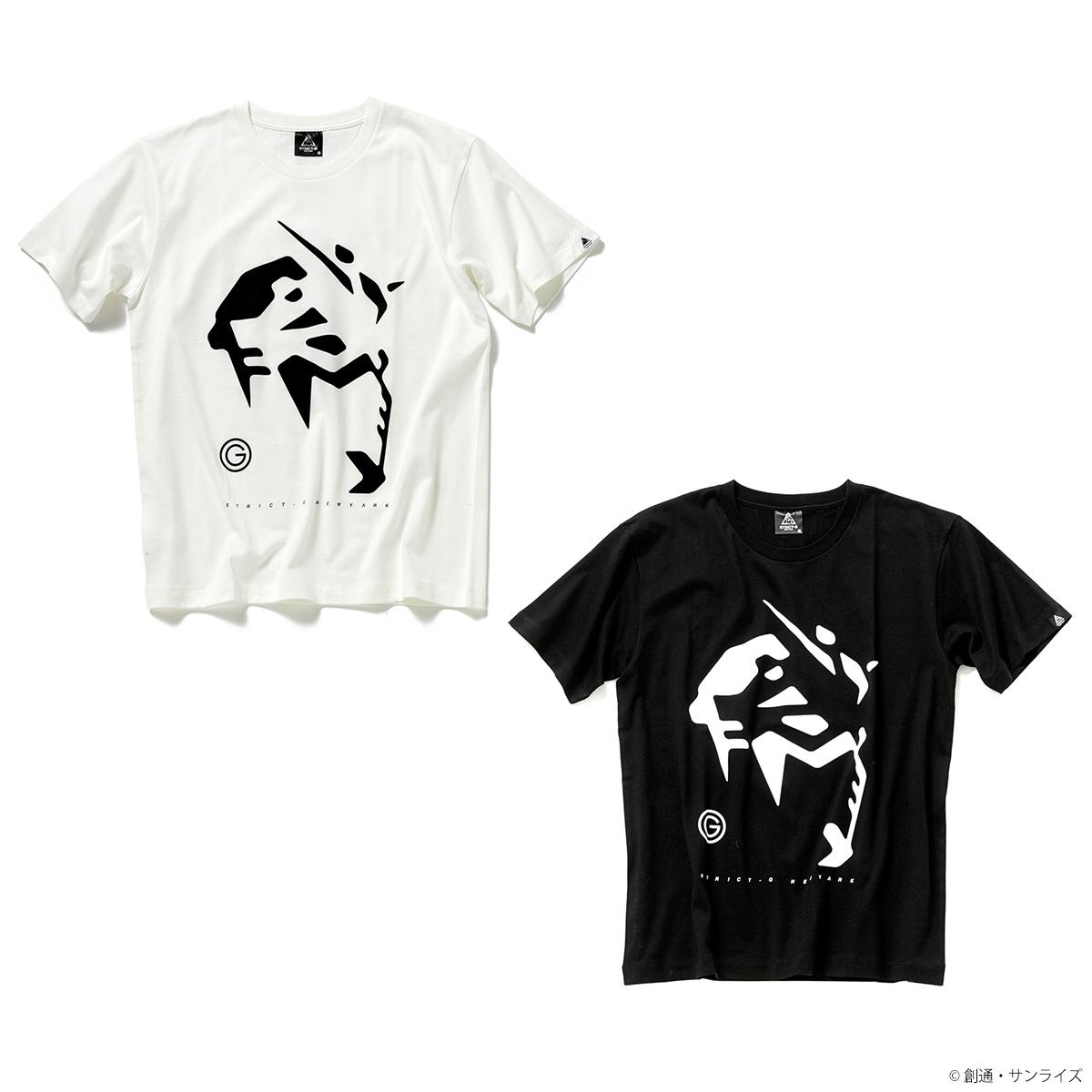 STRICT-G NEW YARK Tシャツ ガンダムフェイス柄