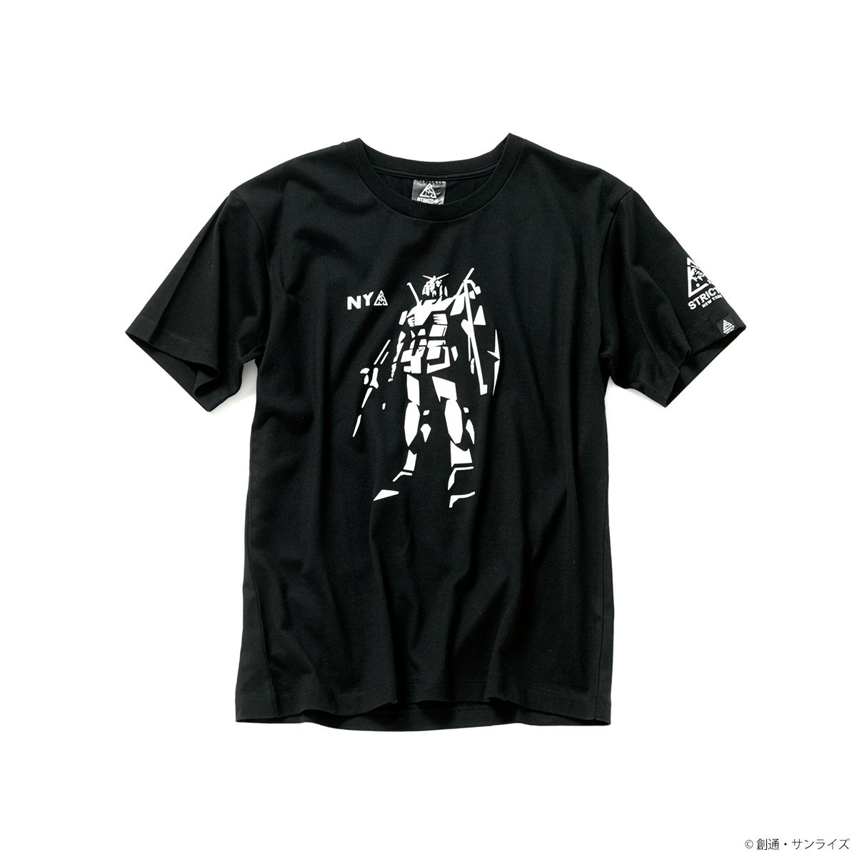 STRICT-G NEW YARK Tシャツ ガンダムスタンディング柄