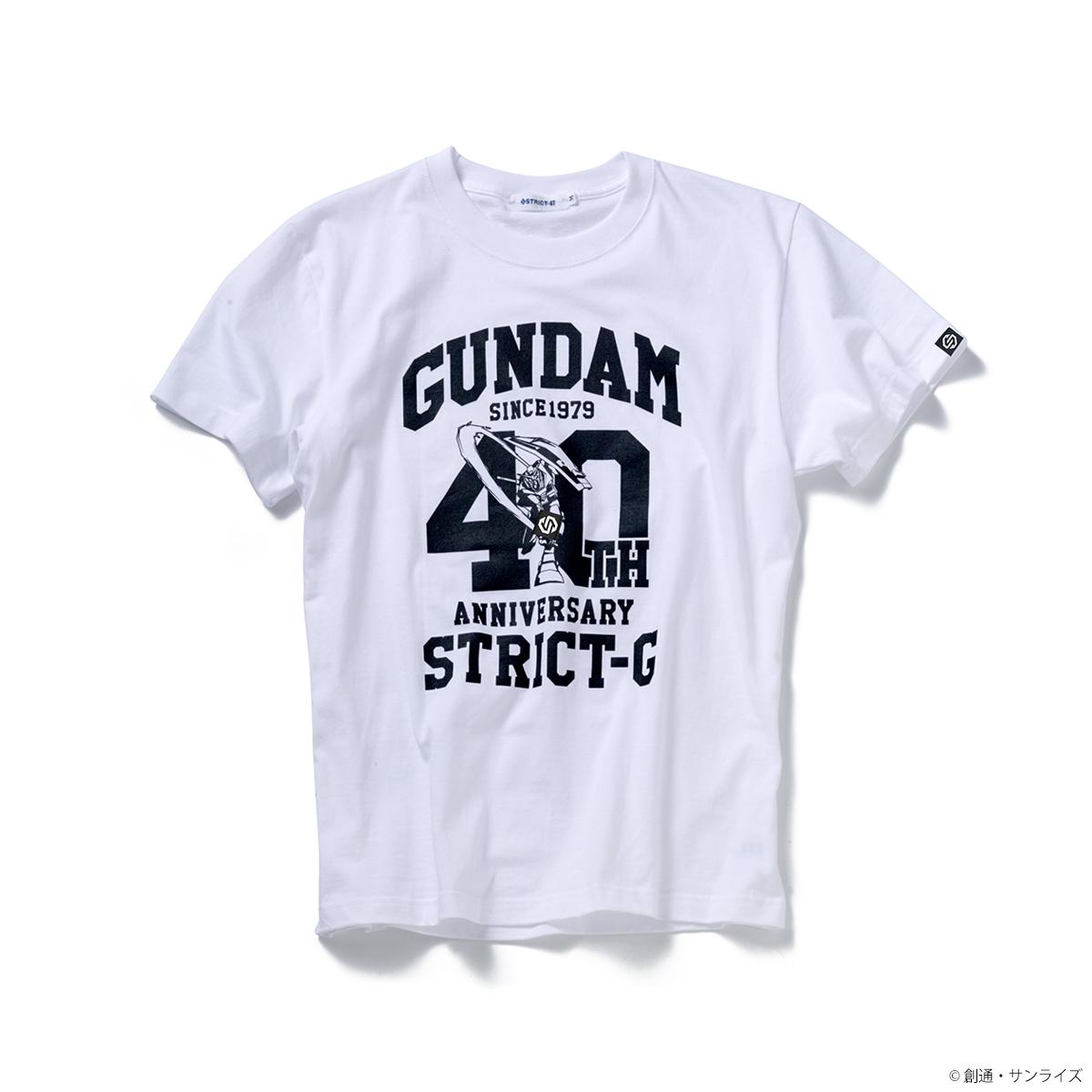 『機動戦士ガンダム』40周年記念Tシャツ ガンダム