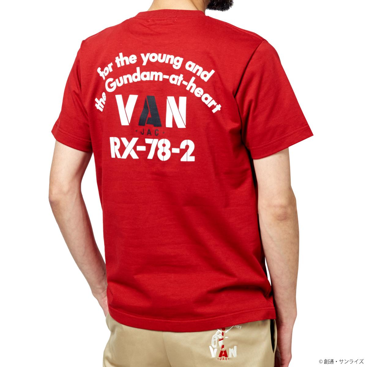 STRICT-G × VAN『機動戦士ガンダム』Tシャツ