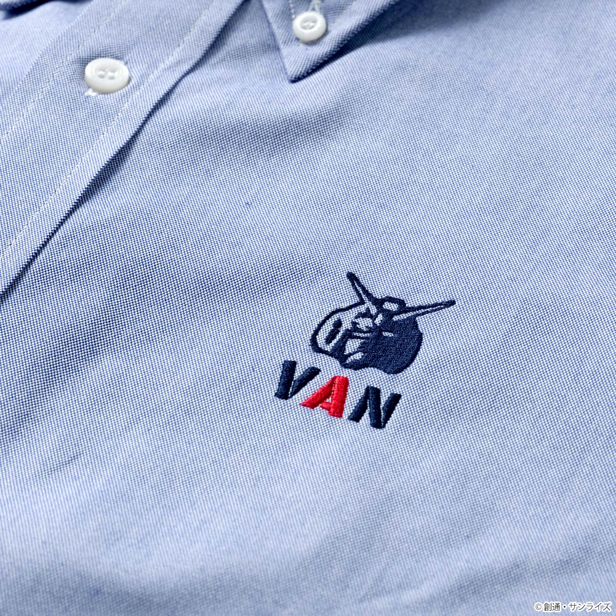 STRICT-G × VAN『機動戦士ガンダム』OX BDシャツ