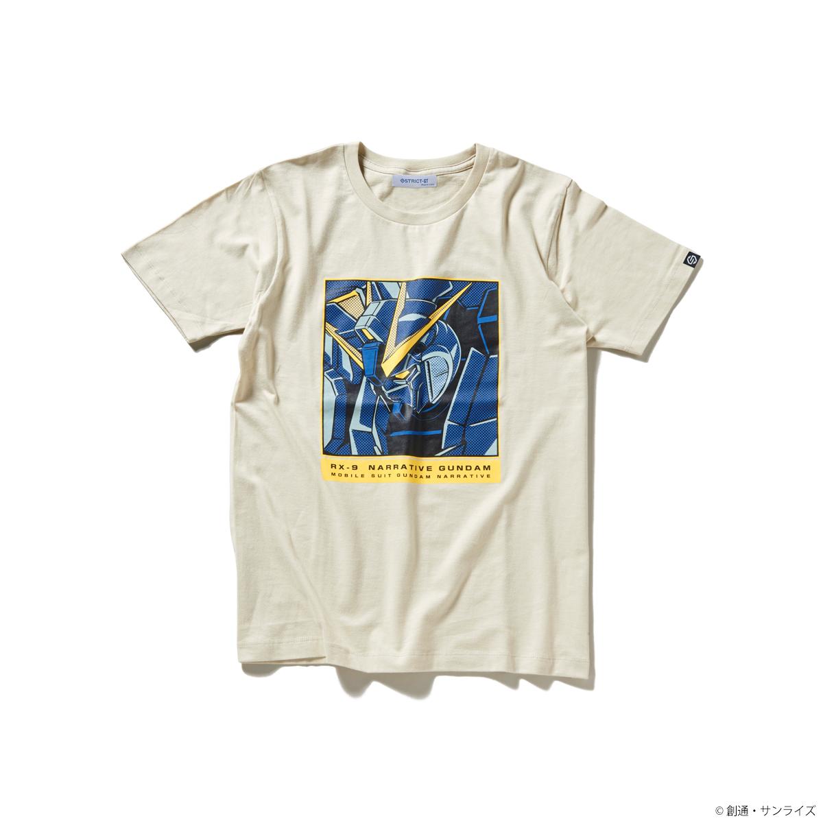 『機動戦士ガンダムNT』POP ART Tシャツ ナラティブガンダム