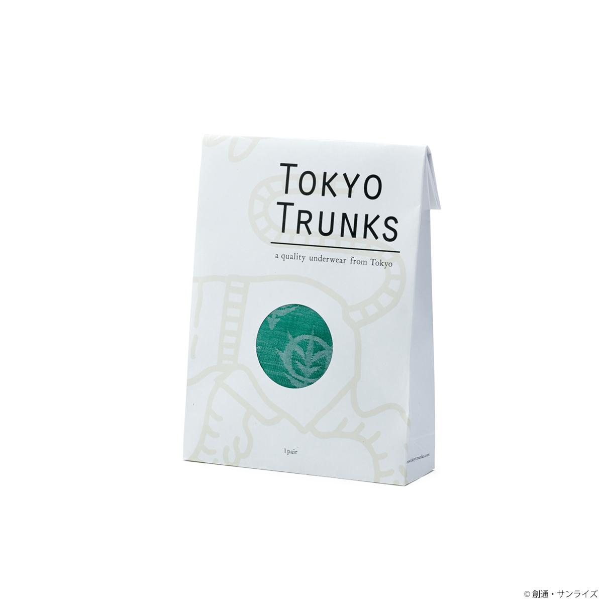 STRICT-G × TOKYO TRUNKS 『機動戦士ガンダム』トランクス ジオン軍ジャガード総柄