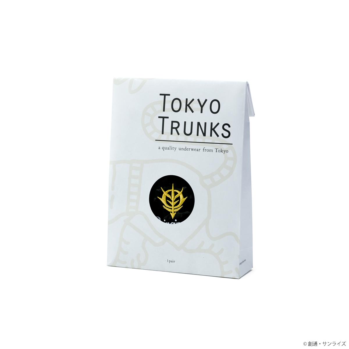 STRICT-G × TOKYO TRUNKS 『機動戦士ガンダム』トランクス ジオン軍カモフラージュ柄