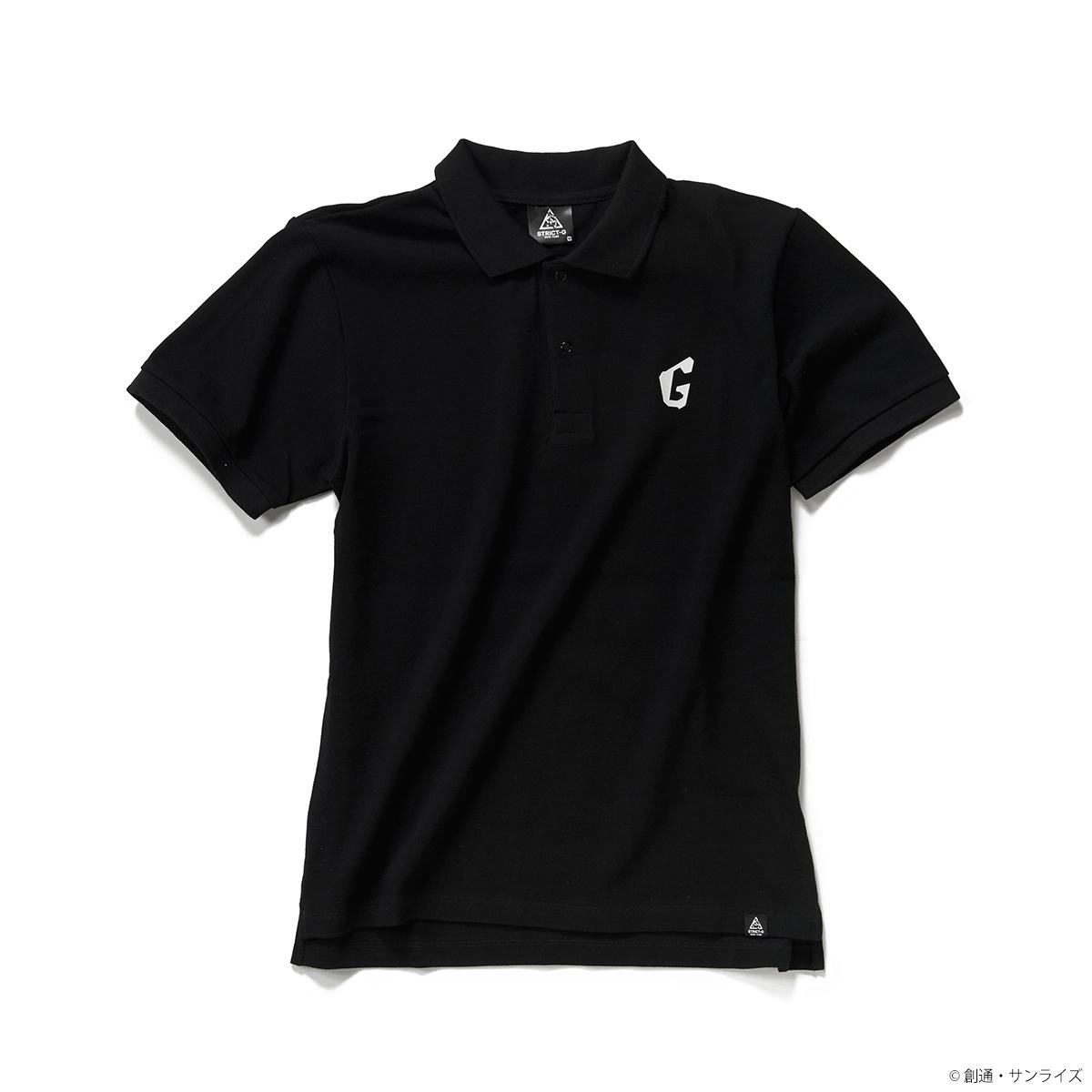 「STRICT-G NEW YARK」ポロシャツ ガンダムフェイス柄