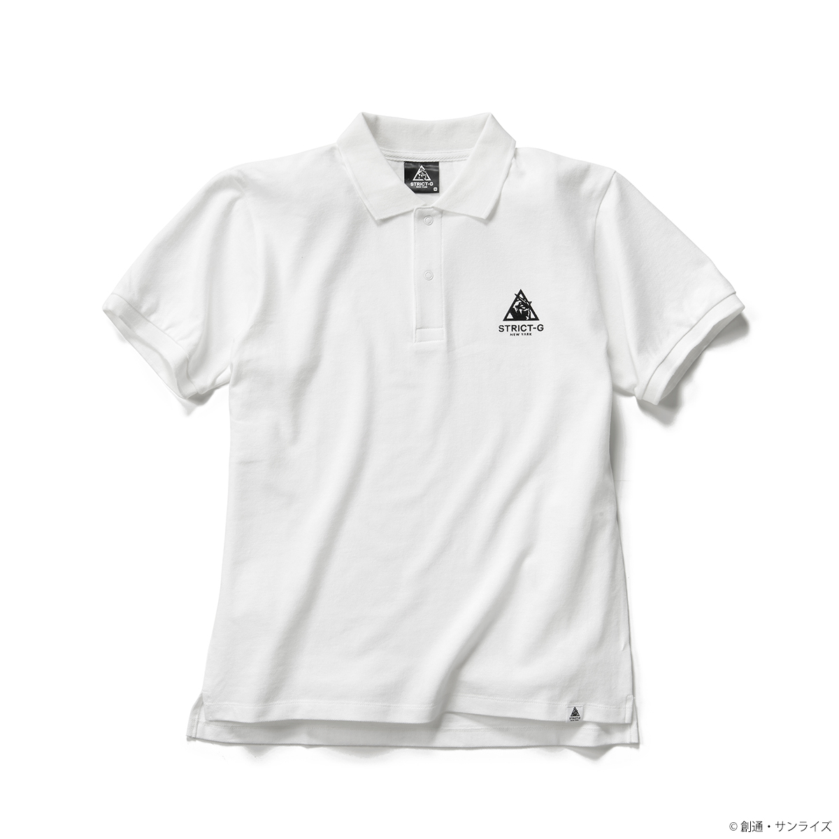 「STRICT-G NEW YARK」ポロシャツ NEW YARKロゴ柄