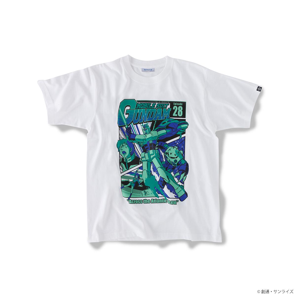 『機動戦士ガンダム』EPISODE Tシャツ エピソード28話「大西洋、血に染めて」