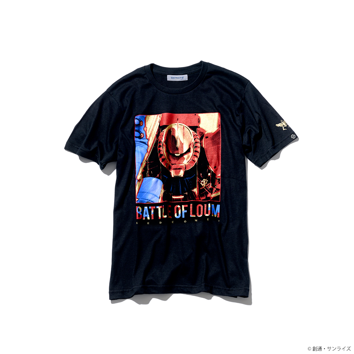 『機動戦士ガンダム THE ORIGIN』シャア専用ザクII柄 Tシャツ