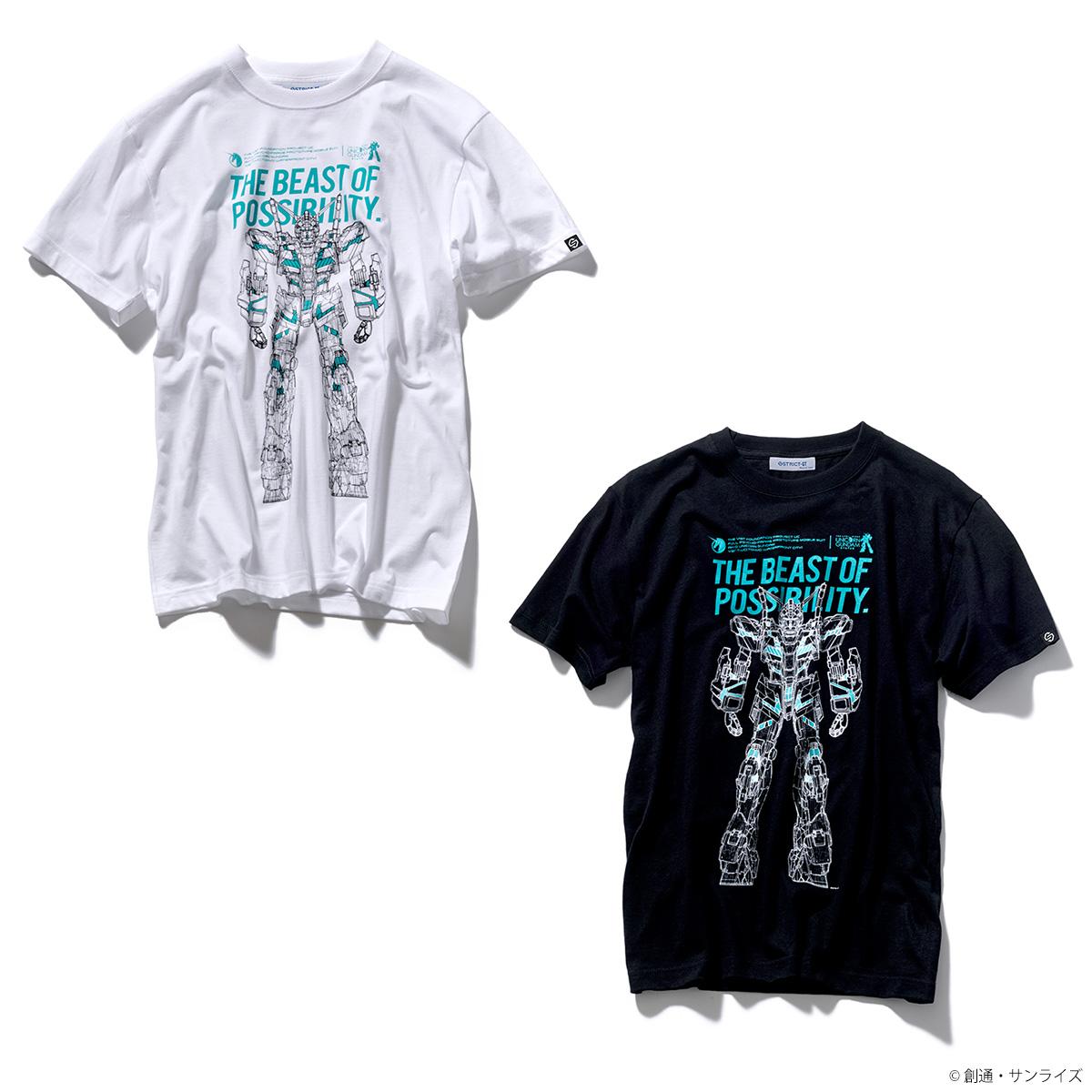 『実物大ユニコーンガンダム立像』新柄Tシャツ発売!