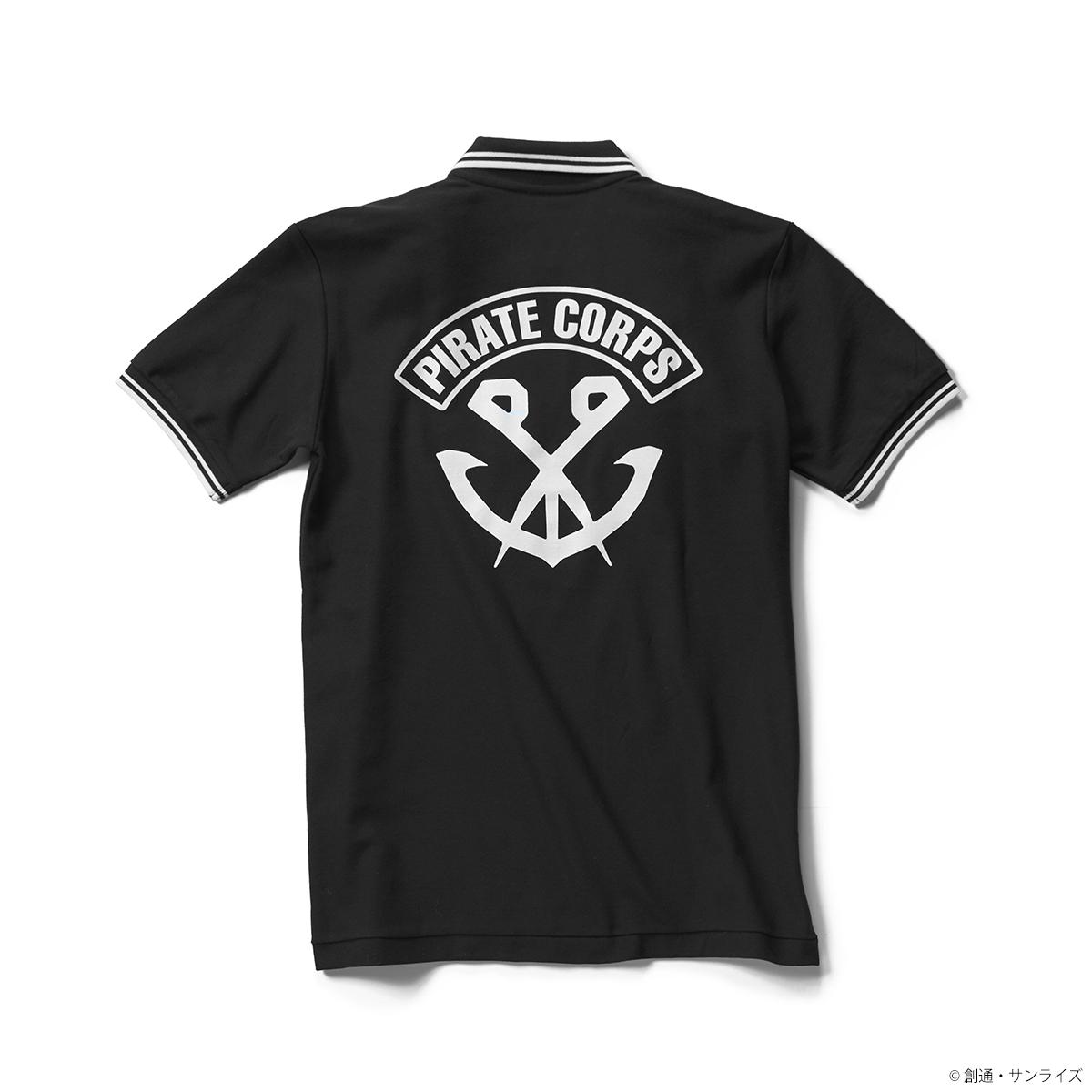 『ガンダム Gのレコンギスタ』ラインポロシャツ 黒