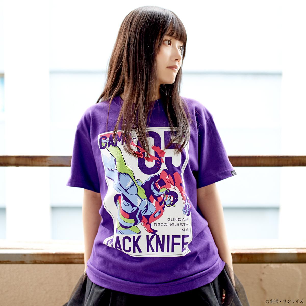 『ガンダム Gのレコンギスタ』MS柄 Tシャツ マックナイフ