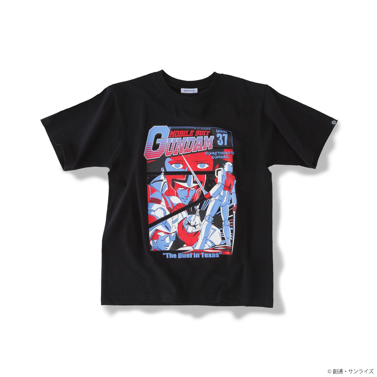 『機動戦士ガンダム』EPISODE Tシャツ エピソード37話「テキサスの攻防」