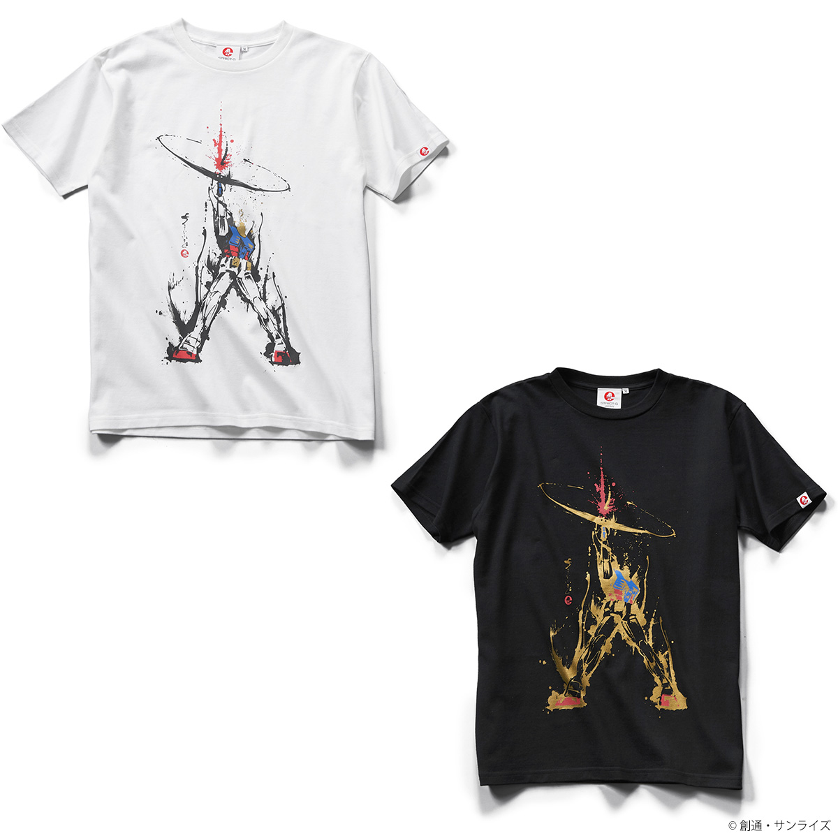 STRICT-G JAPAN『機動戦士ガンダム』筆絵Tシャツ ラストシューティング柄