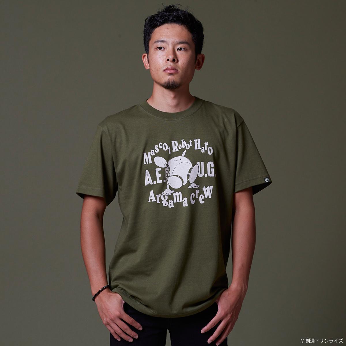 『機動戦士Zガンダム』 Tシャツ ハロ・クルー柄