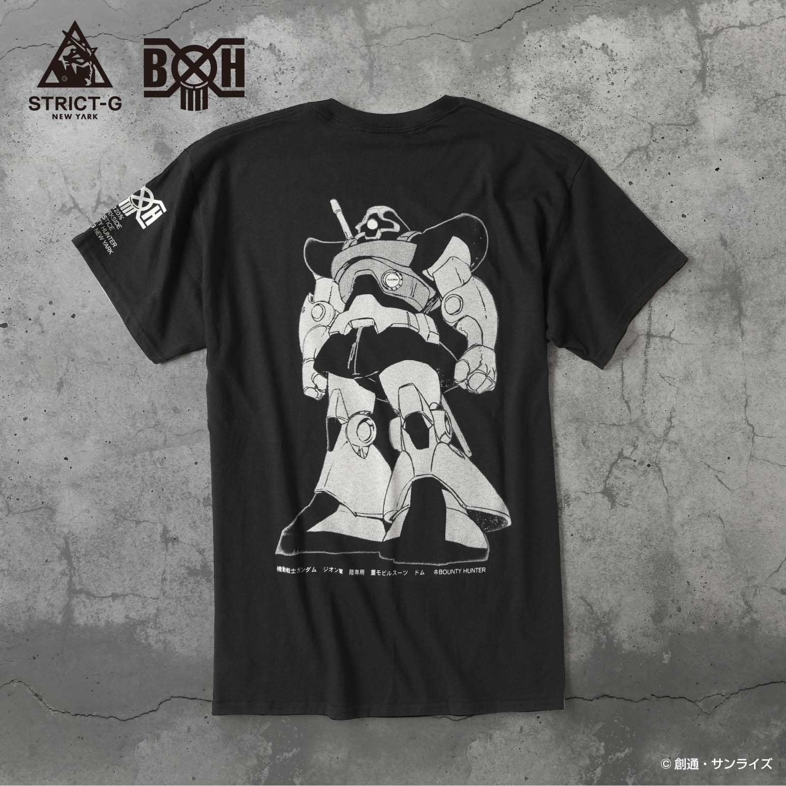 STRICT-G NEW YARK × BOUNTY HUNTER ドムTシャツ
