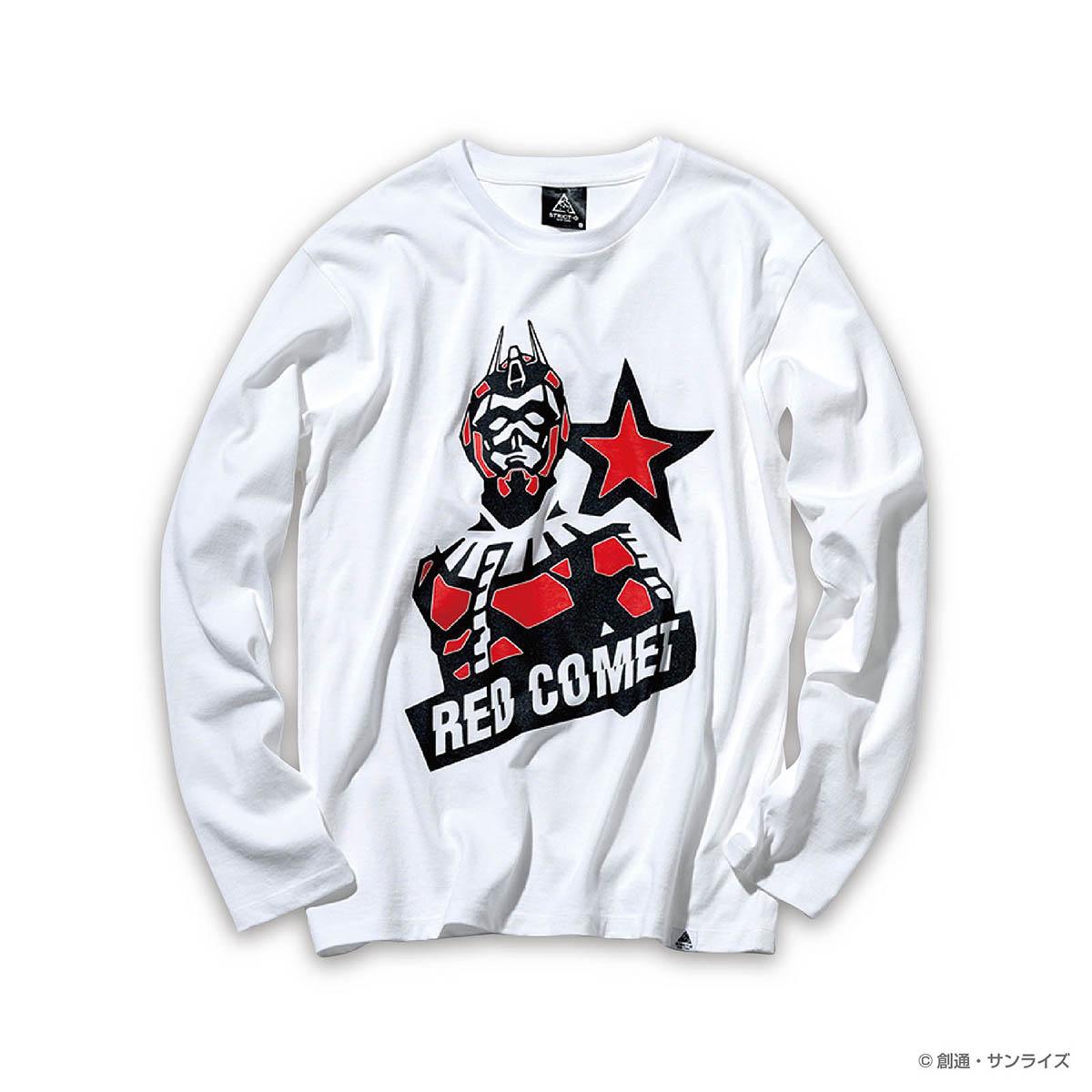 STRICT-G NEW YARK 長袖Tシャツ RED COMET PILOT