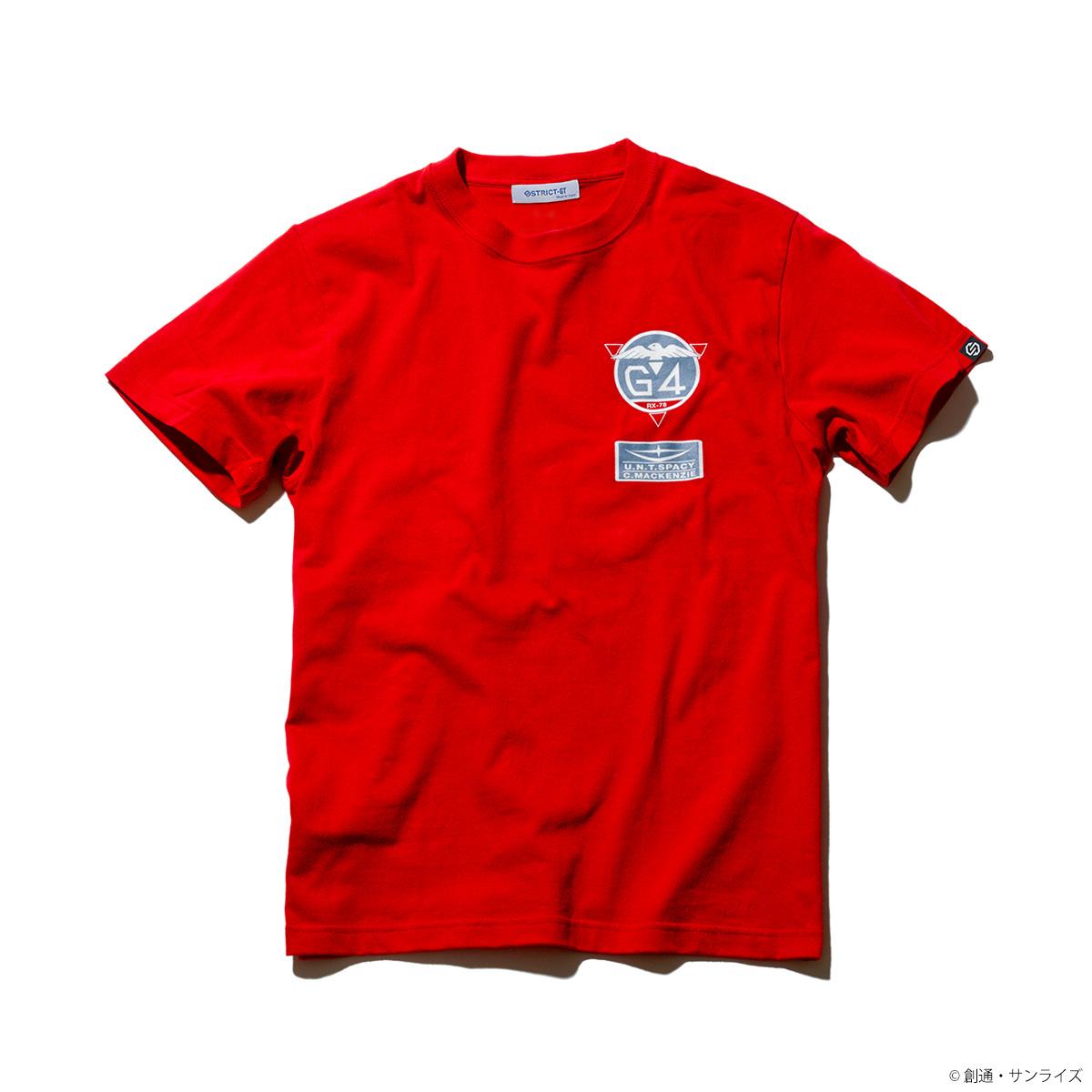 『機動戦士ガンダム0080 ポケットの中の戦争』Tシャツ クリスチーナ・G-4部隊柄