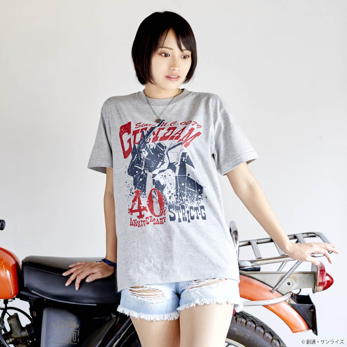 『機動戦士ガンダム』40周年記念 コンバット柄Tシャツ ガンダム