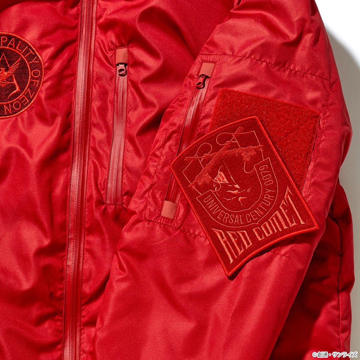 STRICT-G × NANGA ダウンジャケット『機動戦士ガンダム』40周年記念 シャアモデル