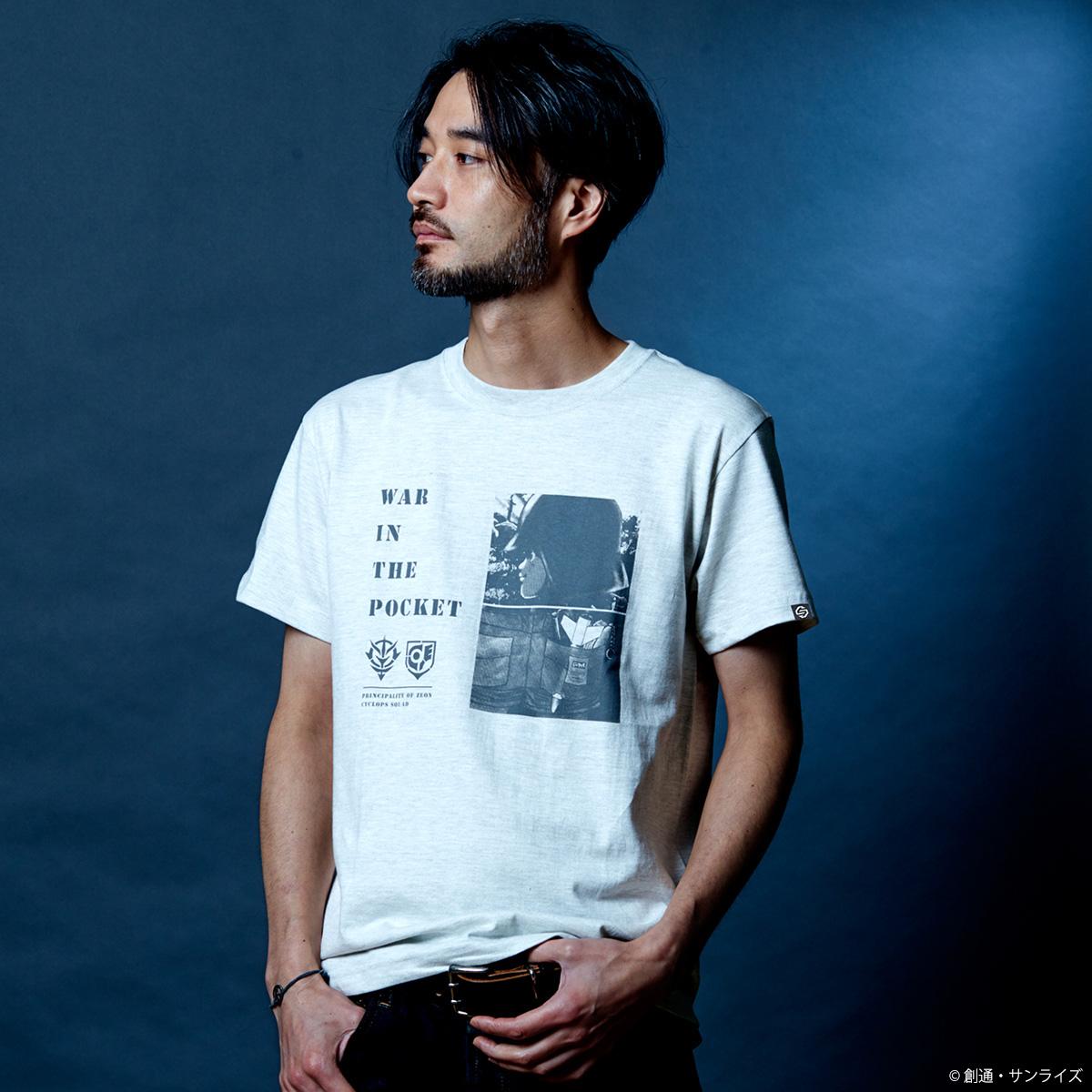 『機動戦士ガンダム0080 ポケットの中の戦争』Tシャツ WAR IN THE POCKET柄