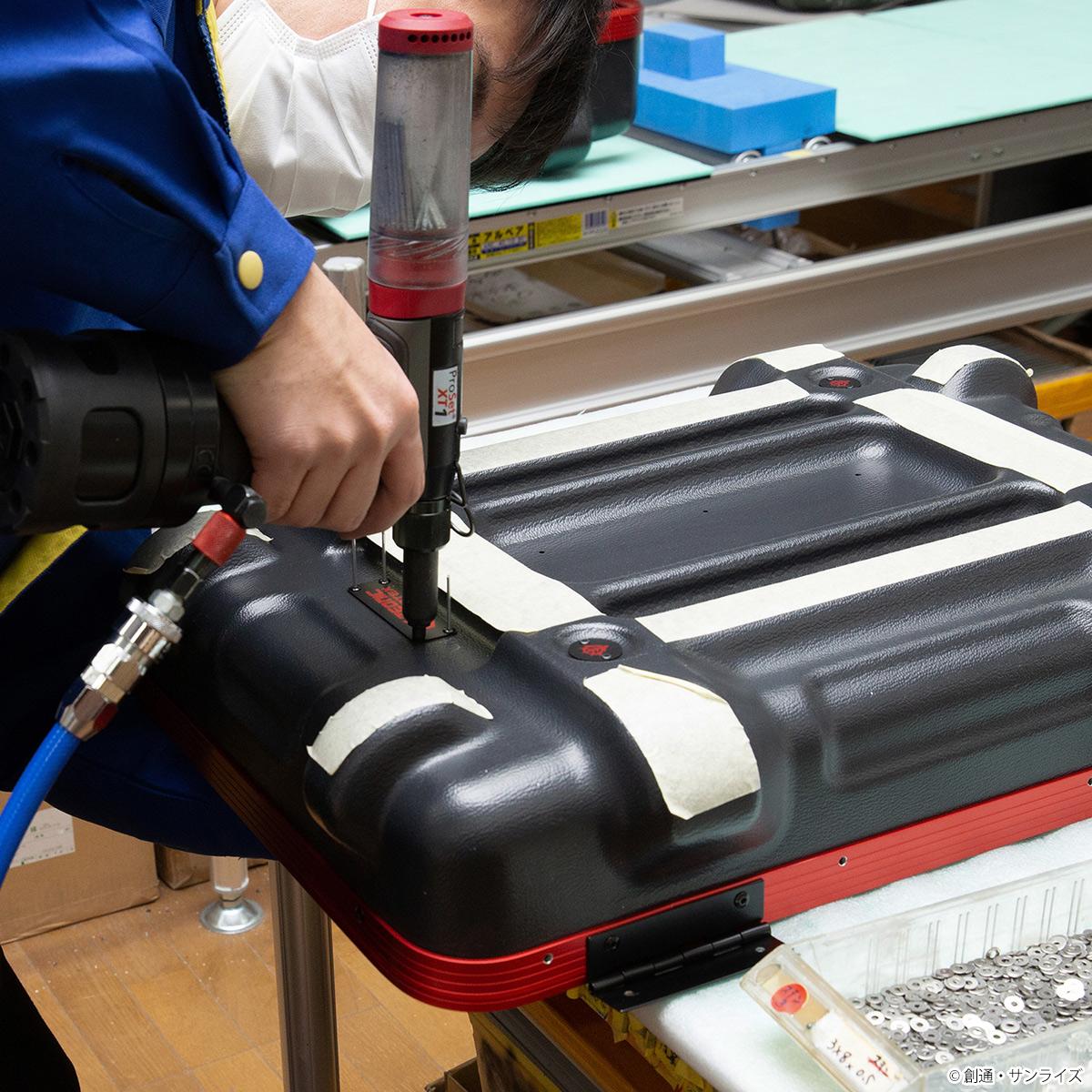 STRICT-G × PROTEX 『機動戦士ガンダム』 CR-4000 キャリーケース シャアモデル