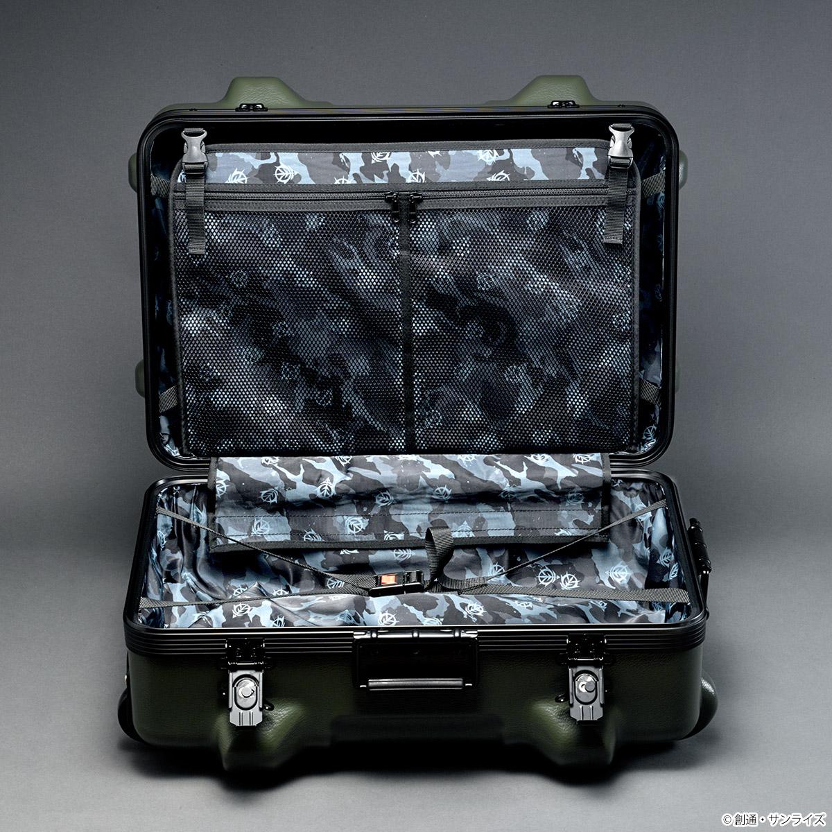 STRICT-G × PROTEX 『機動戦士ガンダム』 CR-4000 キャリーケース ジオン軍モデル