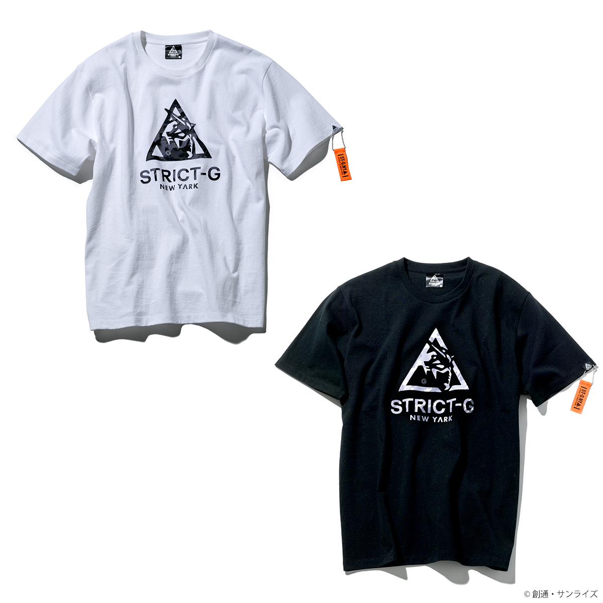 STRICT-G NEW YARK Tシャツ Camouflage Logo