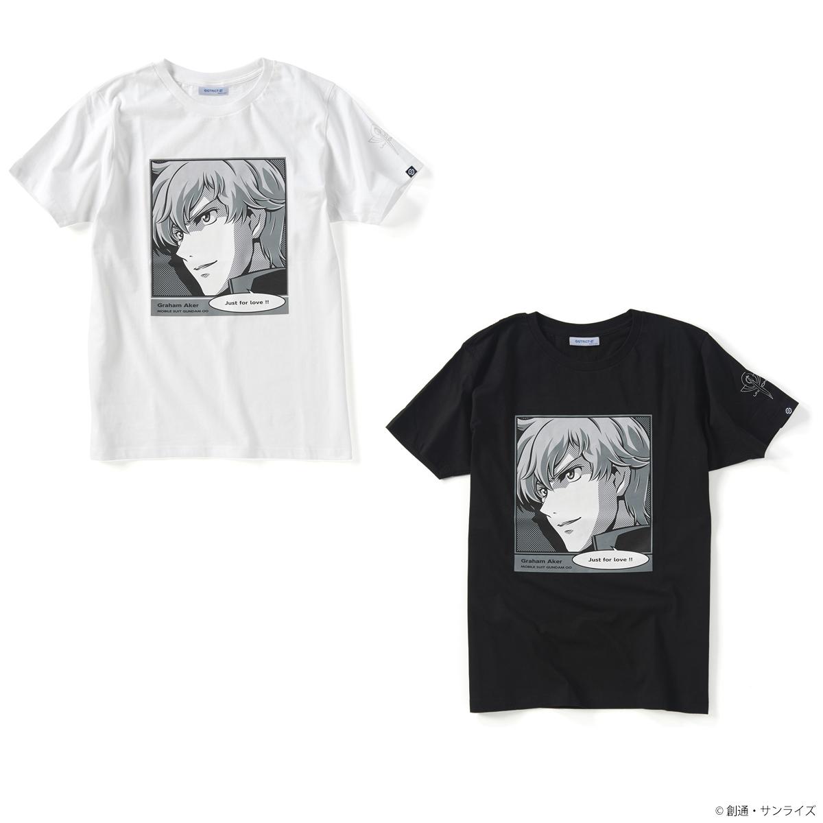 STRICT-G 『機動戦士ガンダム00』 POP ART Tシャツ グラハム・エーカー