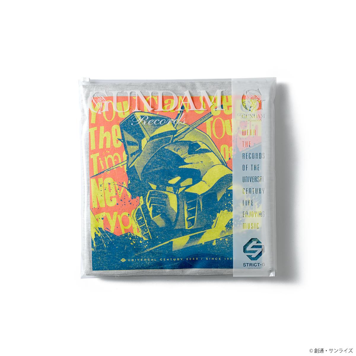 STRICT-G 新企画 Tシャツコレクション「GUNDAM RECORDS」シリーズ第一弾発売!