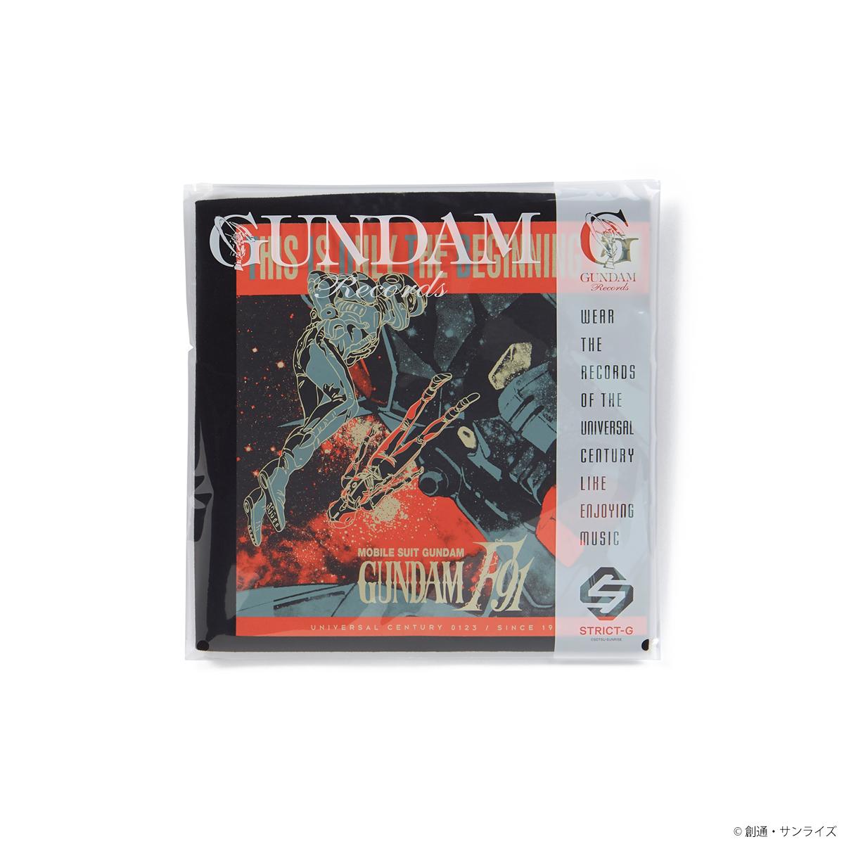 STRICT-G GUNDAM RECORDS『機動戦士ガンダムF91』Tシャツ