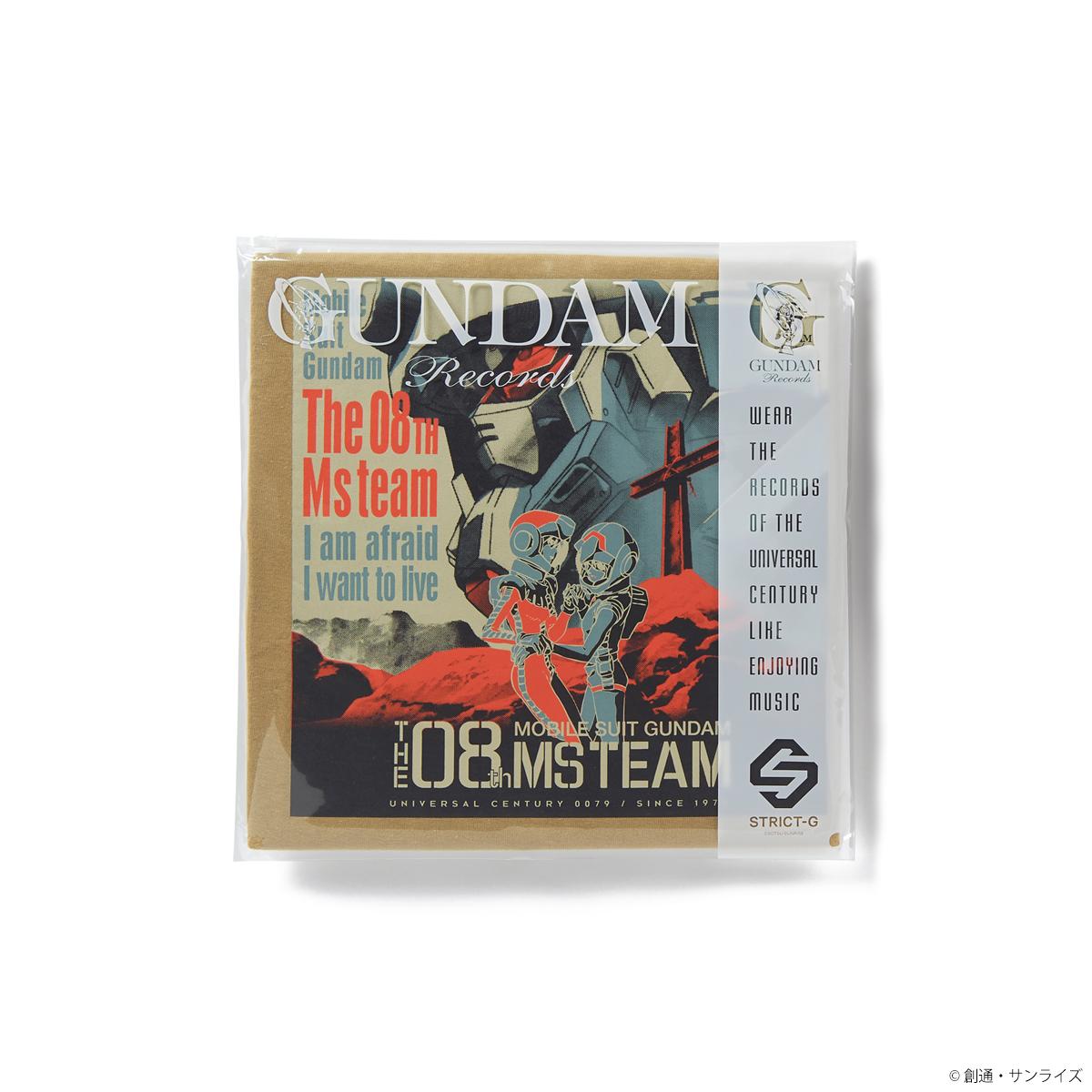 STRICT-G GUNDAM RECORDS『機動戦士ガンダム 第08MS小隊』Tシャツ