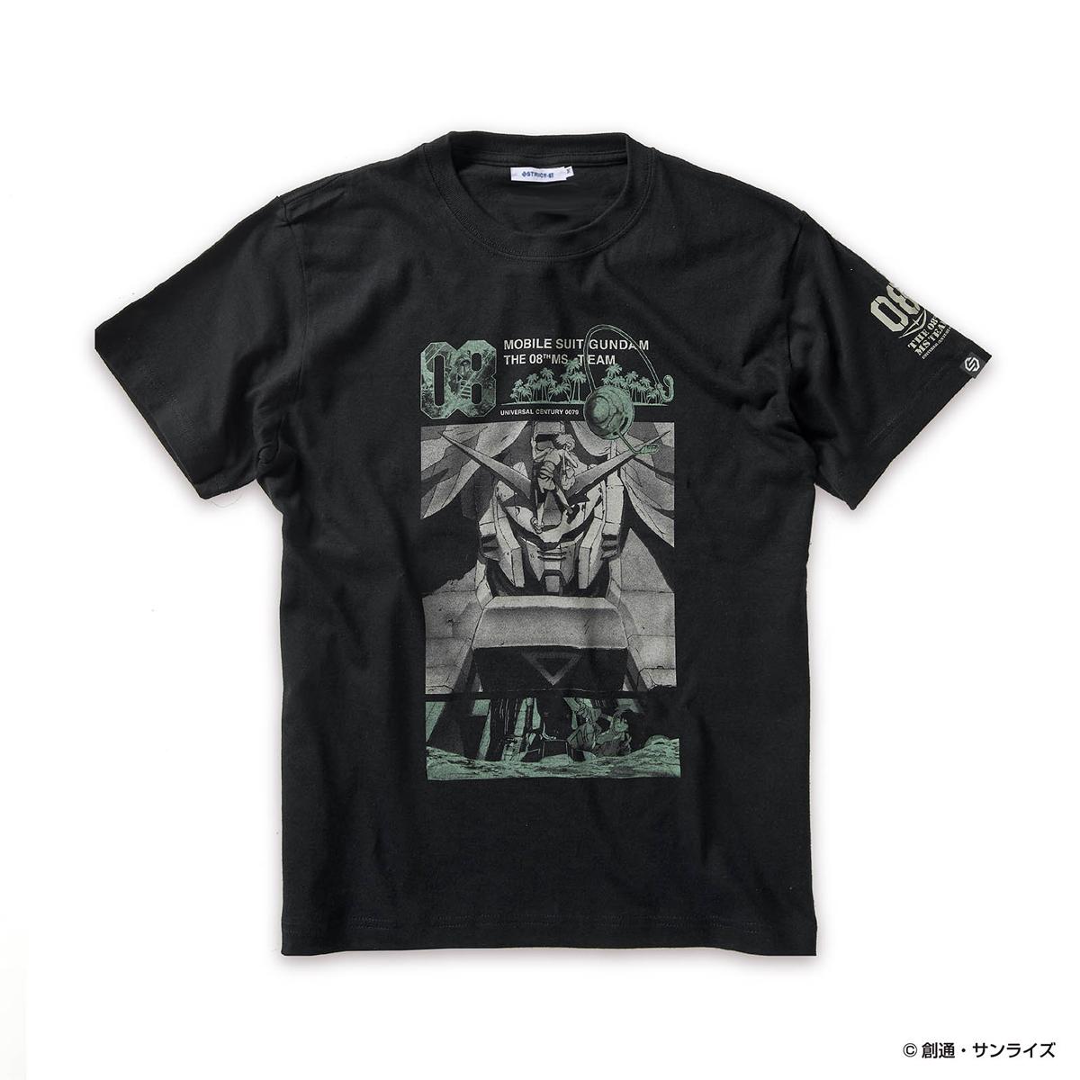 STRICT-G『機動戦士ガンダム 第08MS小隊』 Tシャツ RX-79柄