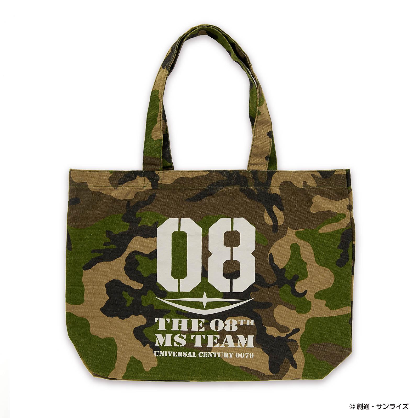 STRICT-G『機動戦士ガンダム 第08MS小隊』 カモフラキャンバストートバッグ