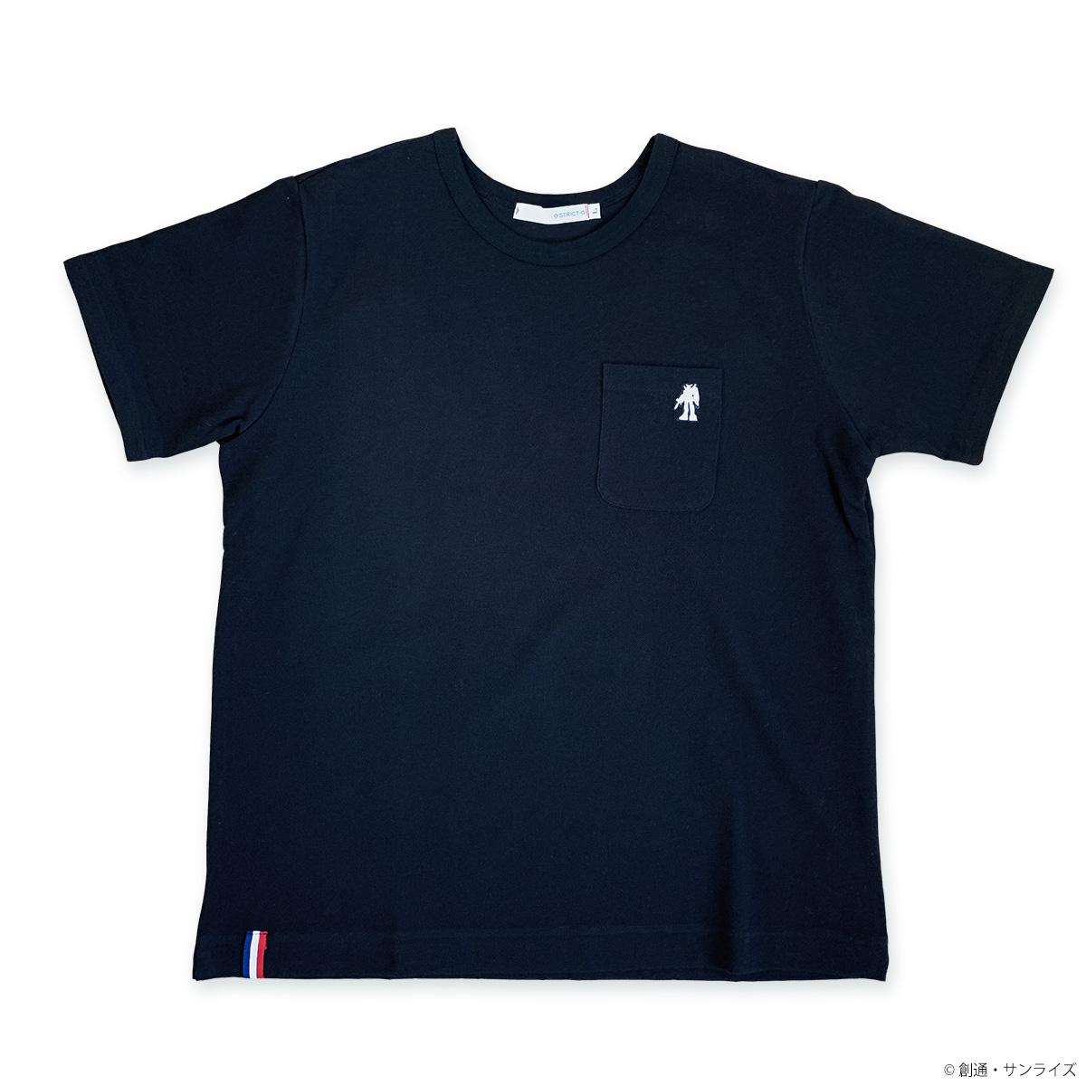 STRICT-G BASIC『機動戦士ガンダム』鹿の子ポケット付Tシャツ