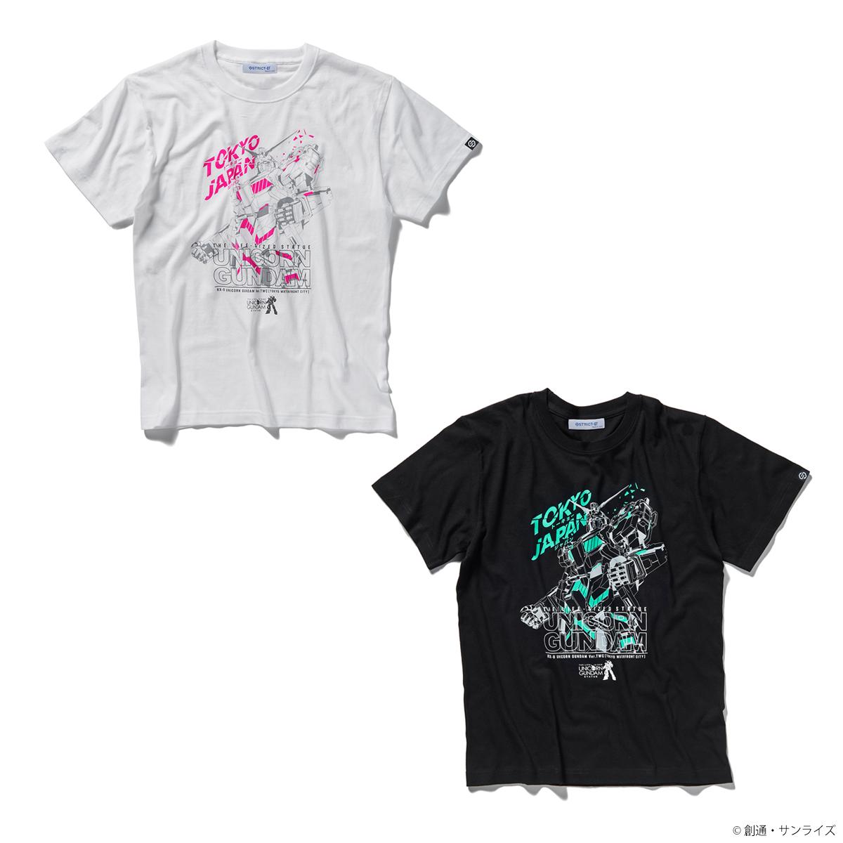 実物大 ユニコーンガンダム立像Tシャツ TOKYO JAPAN柄