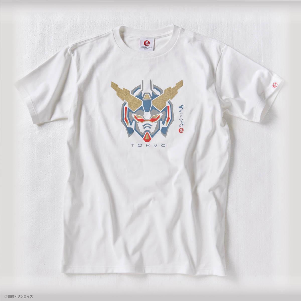 STRICT-G JAPAN 『機動戦士ガンダムUC』Tシャツ UCガンダム紋様柄  (STRICT-G 東京お台場店限定商品)