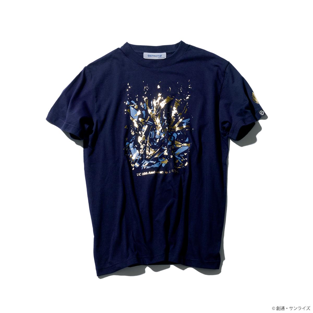 STRICT-G『機動戦士ガンダムUC』 OVA10周年記念 Tシャツ バンシィ柄
