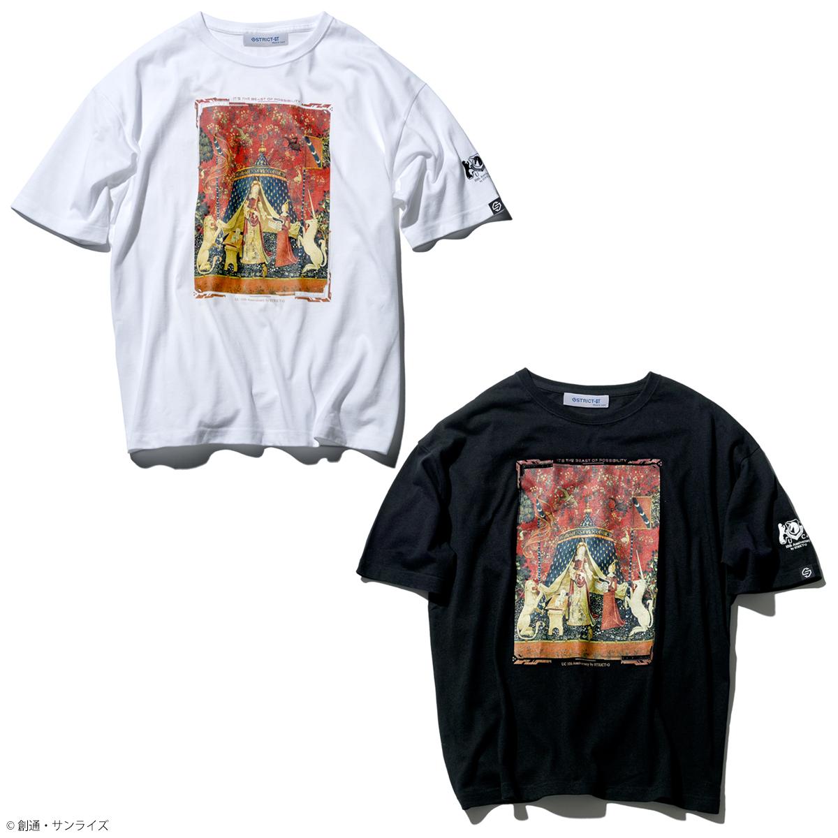 STRICT-G『機動戦士ガンダムUC』 OVA10周年記念 ビッグTシャツ タペストリー柄