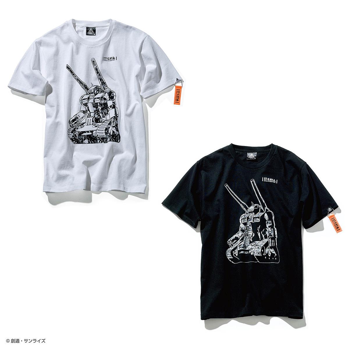 STRICT-G NEW YARK Tシャツ ガンタンクコラージュ柄