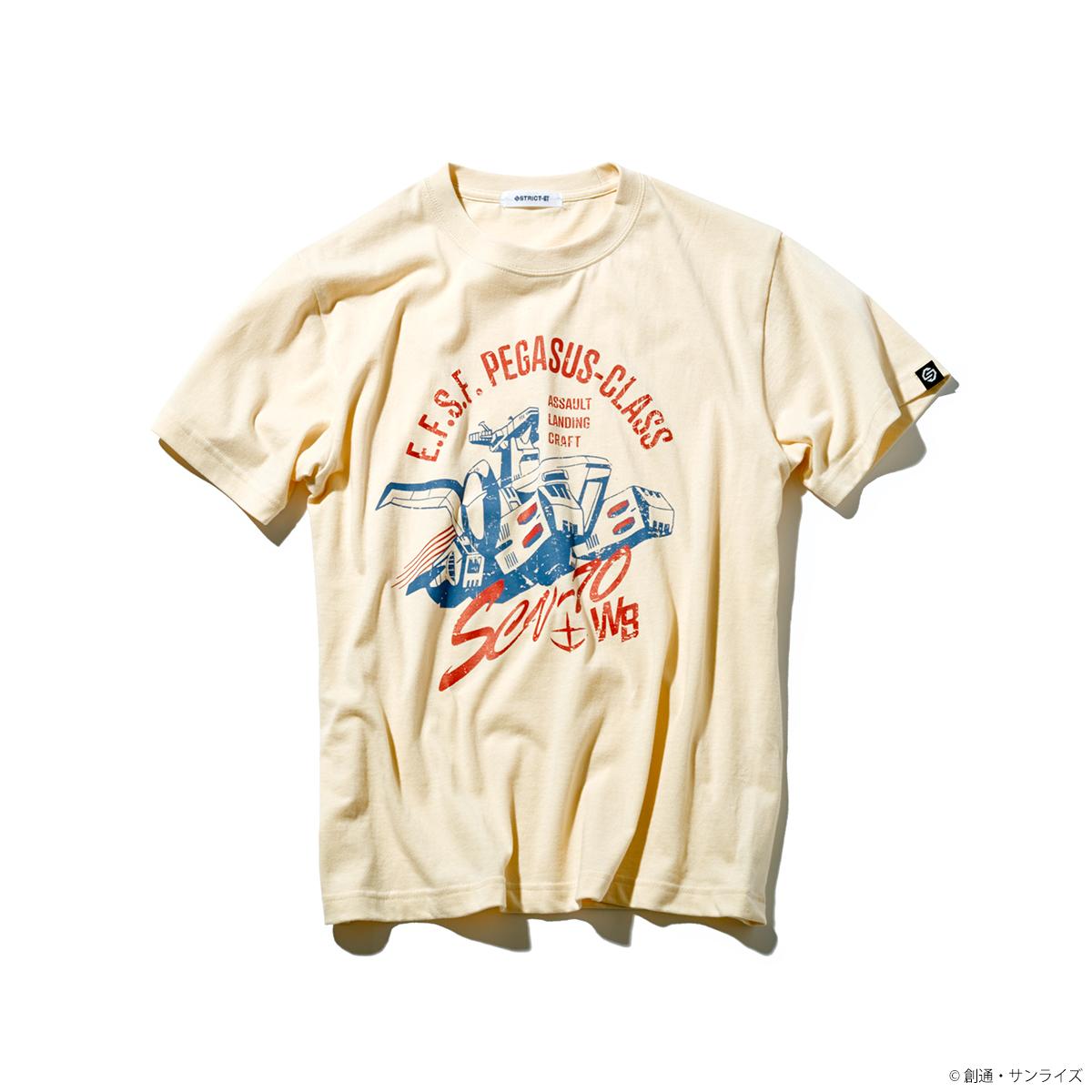 STRICT-G『機動戦士ガンダム』 親子Tシャツ ホワイトベース柄