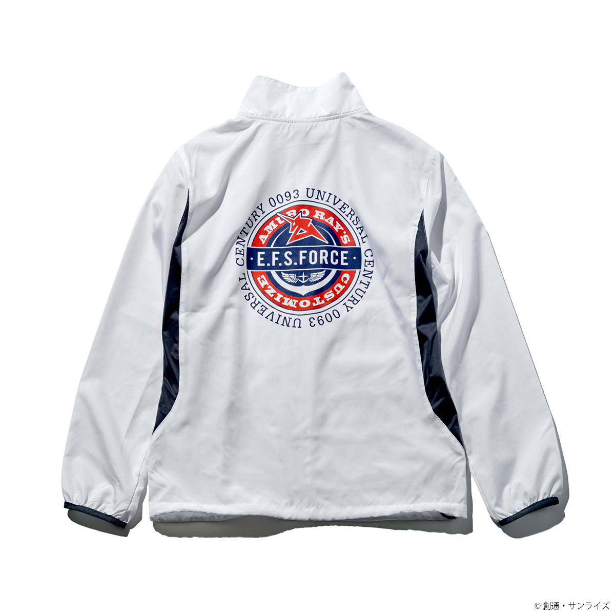 STRICT-G『機動戦士ガンダム 逆襲のシャア』リップストップジャケット E.F.S.F.柄
