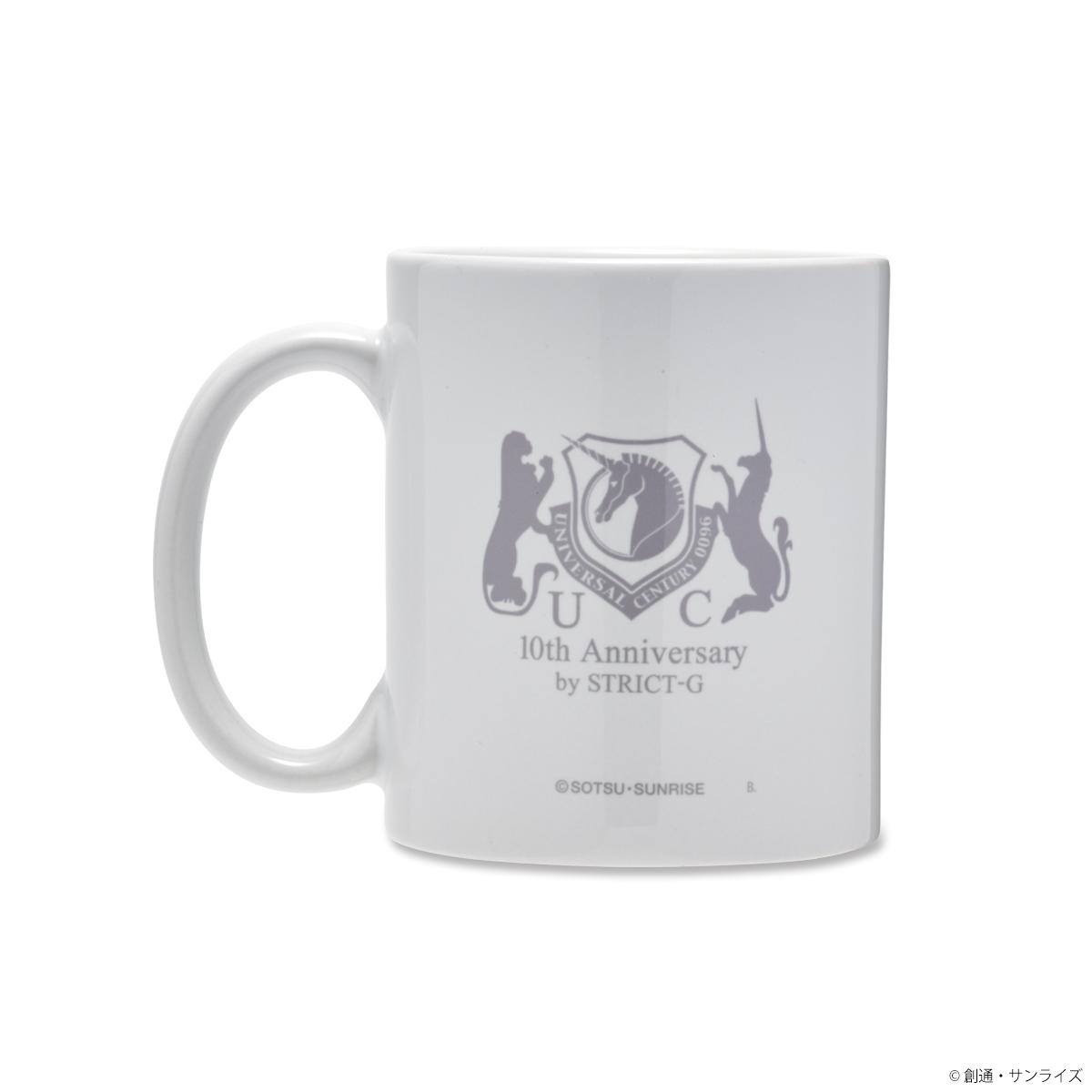 STRICT-G『機動戦士ガンダムUC』 OVA10周年記念 マグカップ タペストリー柄