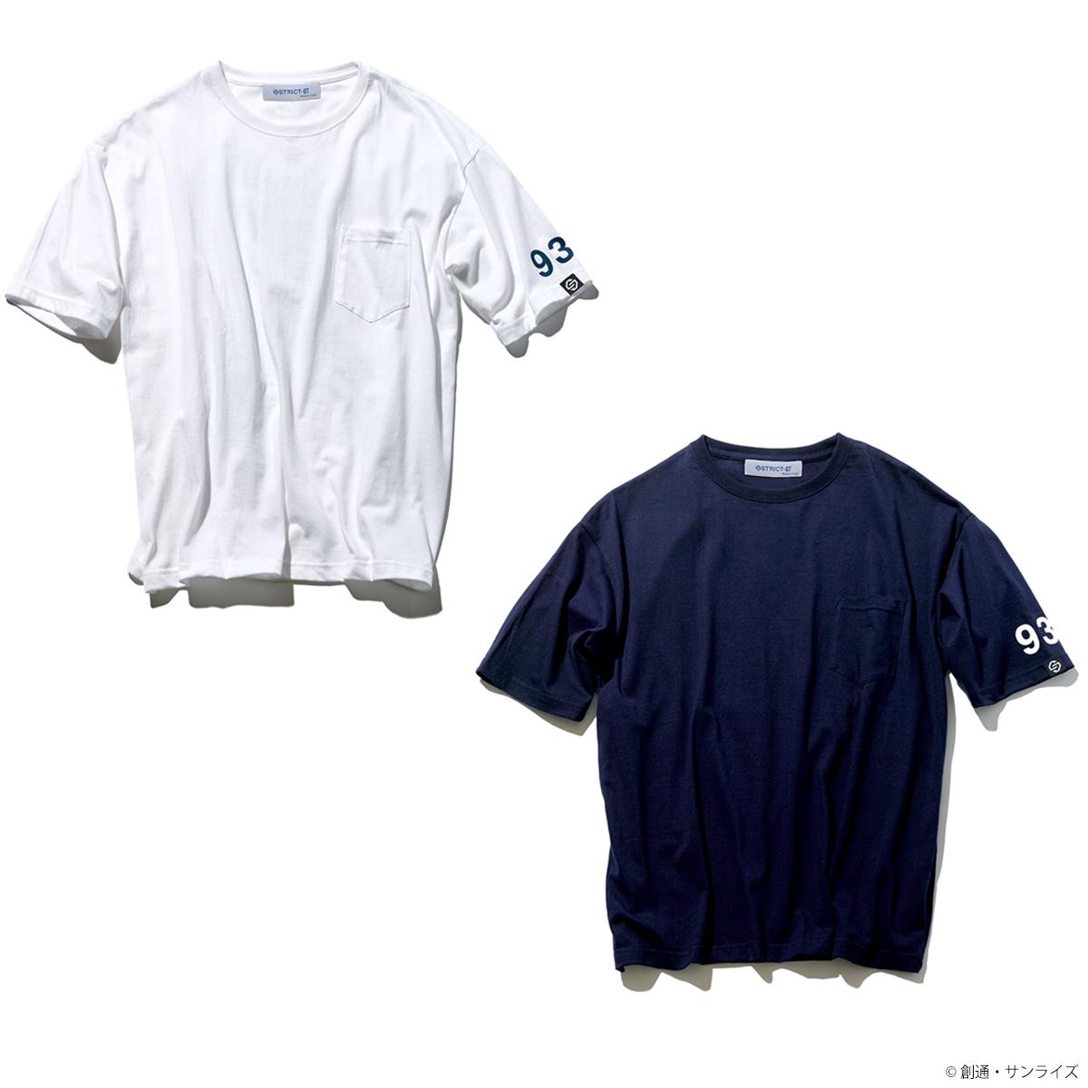 STRICT-G『機動戦士ガンダム 逆襲のシャア』ポケット付きビッグ Tシャツ νガンダム