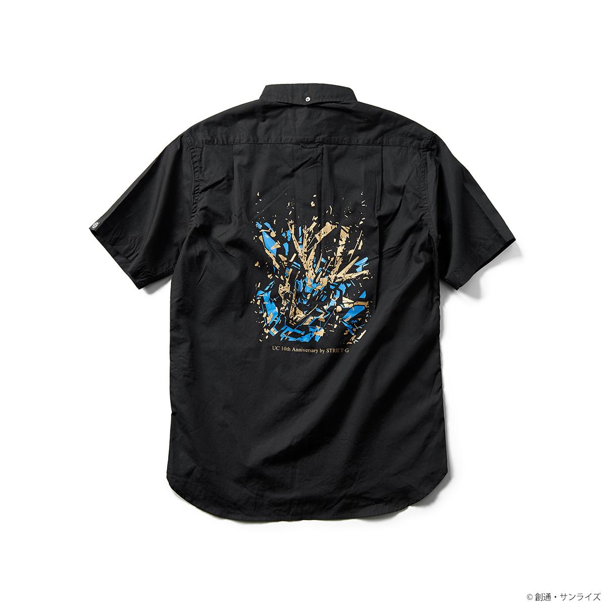STRICT-G『機動戦士ガンダムUC』 OVA10周年記念 半袖ボタンダウンシャツ バンシィ