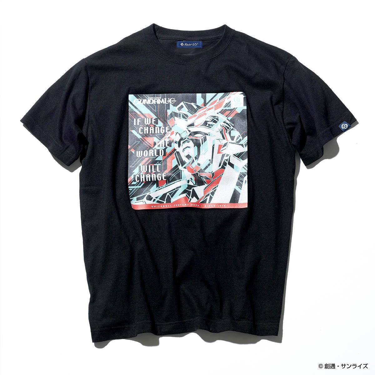 """""""ガンダムの記憶(レコード)を着る""""Tシャツシリーズ第三弾! GUNDAM RECORDSより『ガンダムUC』他、全3タイトル発売"""
