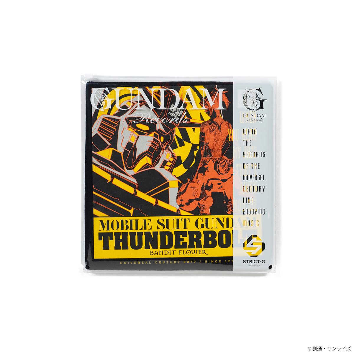 STRICT-G GUNDAM RECORDS 『機動戦士ガンダム サンダーボルト』Tシャツ